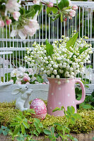Easter arrangement of Lily-of-the-valley