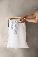 DIY laundry bag