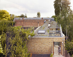Elevated view with sight of roof garden