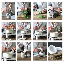 Instructions for making herbal soap