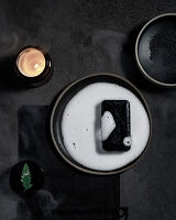 Natural soap with activated charcoal