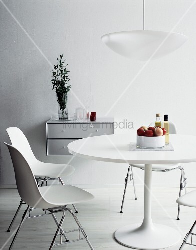 White Dining Room Furniture