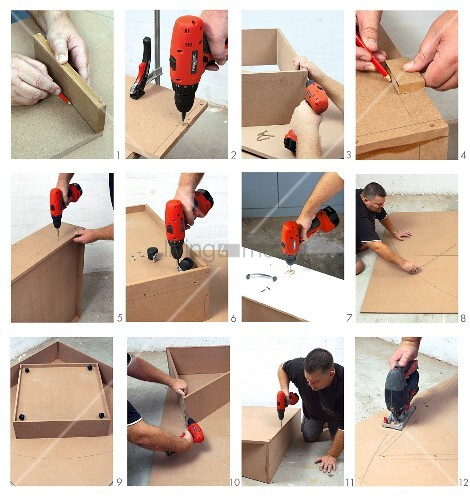 DIY: making a playroom corner platform
