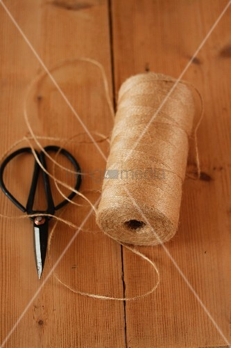String and scissors