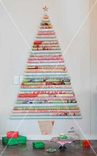 stilisierter weihnachtsbaum aus bild kaufen. Black Bedroom Furniture Sets. Home Design Ideas