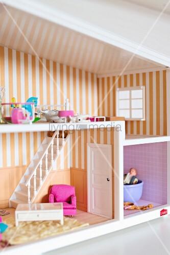 Ausschnitt eines Puppenhauses