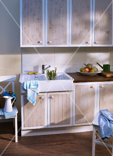 Kitchen cabinet doors refurbished with … – Buy image ...