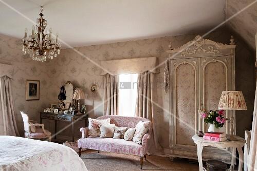 Klassisches englisches Schlafzimmer – Bild kaufen – 11513893 ...