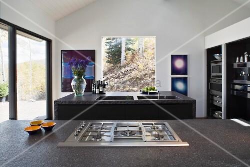 Beautiful Küche Mit Gasherd Images - Amazing Home Ideas ...