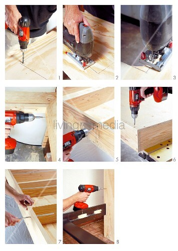 Sprucing up an old children's bunk bed