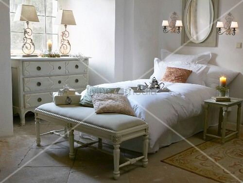 French-style romantic bedroom