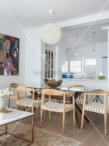 Designer Chairs And Glass Table In Buy Image 12409589