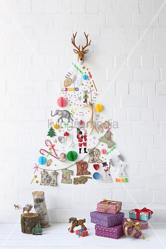 Diy Weihnachtsbaum.Diy Weihnachtsbaum Bild Kaufen 12430569 Living4media