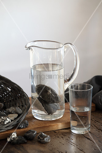 Activated flint water (detoxifying)