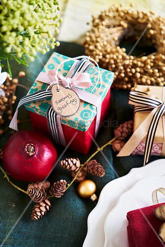 Christmas decoration and presents