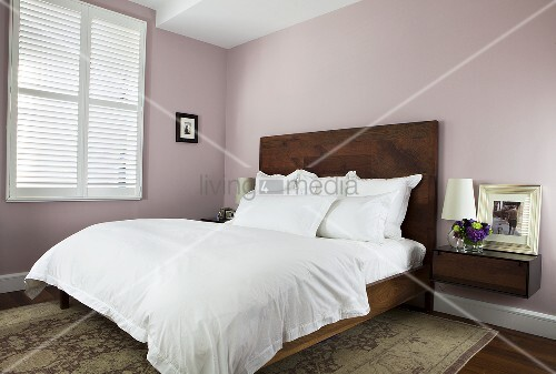 Bedroom with White Bedding; Windows